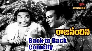 Raja Nandini Telugu Movie Comedy Scenes | Back to Back | NT Rama Rao, Anjali Devi | #RajaNandini