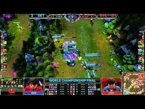 SK Telecom T1 vs Royal Game 3 (S3 World Championship Finals)