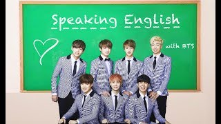 vuclip BTS Speaking English Compilation