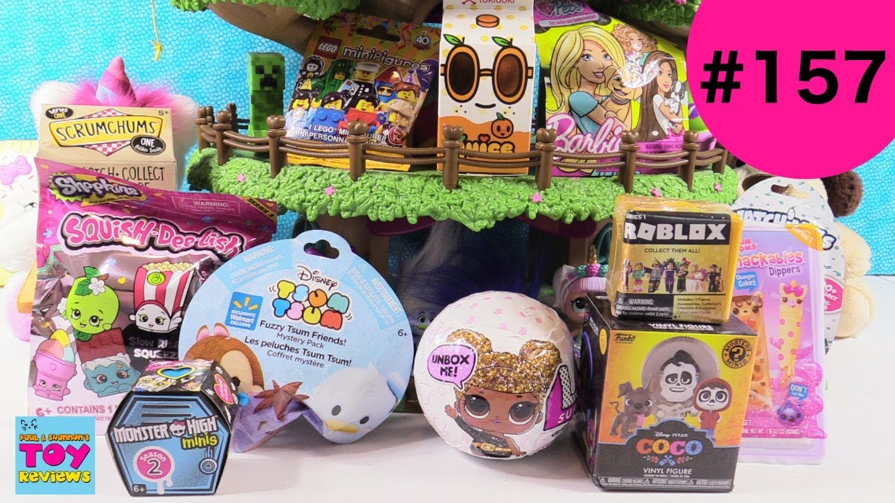 Blind Bag Treehouse 157 Unboxing Disney Coco Hatchimals