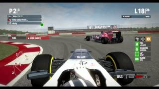 PART 2 - W/MUSIC - F1 2012 Online League Race PC - PRL - Division 1 - Round 9 - Silverstone