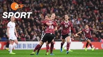 England - Deutschland 1:2 - Die Highlights   ZDFSport - ZDF