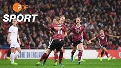 England - Deutschland 1:2 - Die Highlights | ZDFSport - ZDF