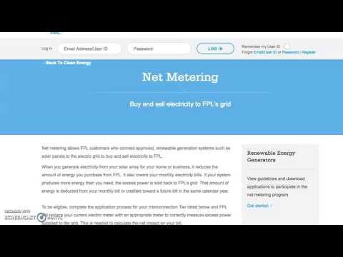 FPL Net Metering