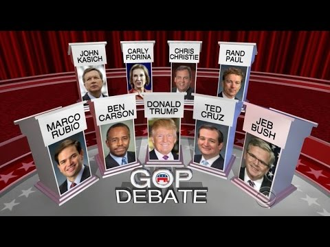 Republicans square off in final GOP debate of 2015