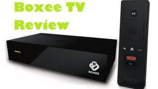 Boxee TV (2012) Set Up & Review