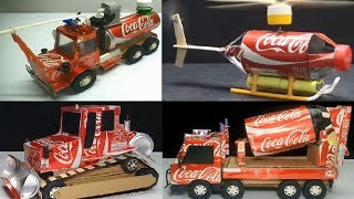 TOP 4 Unique Creation of Toys for Kids from Coca Cola
