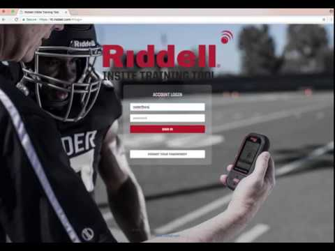 299fb6c717c Riddell InSite Training Tool  Training Opportunities - YouTube
