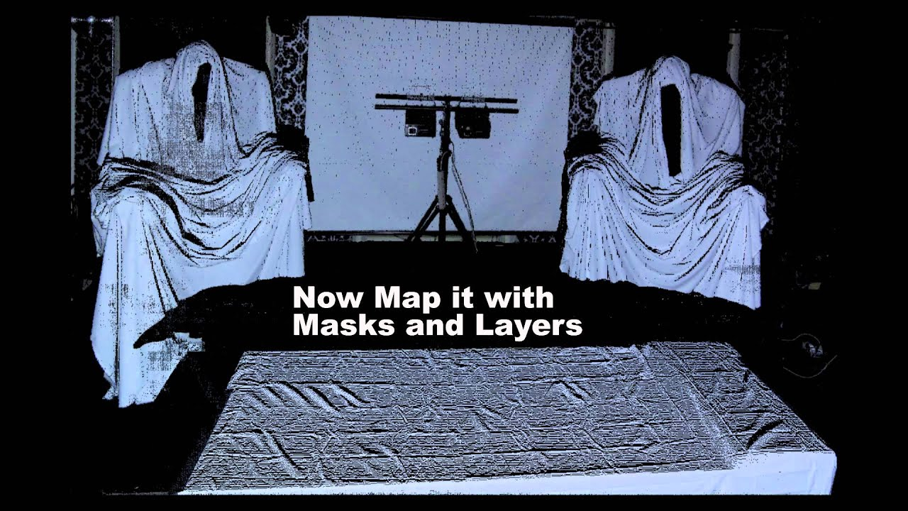 DIY Projection Mapped Druids, Ghosts, or . - YouTube on