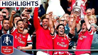 Arsenal vs Hull City - FA Cup Final 2014  Goals  Highlights