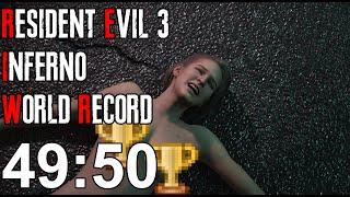 Resident Evil 3 Inferno Speedrun World Record - 49:50