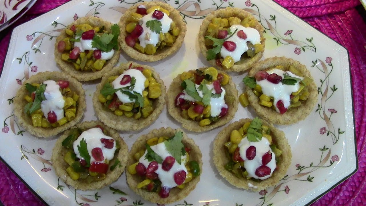 Quick and easy vegetarian canape youtube for How to make canape