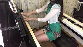 性感旗袍美女钢琴演奏生僻字 陈柯宇非常有趣的一首歌绯绯Feifei