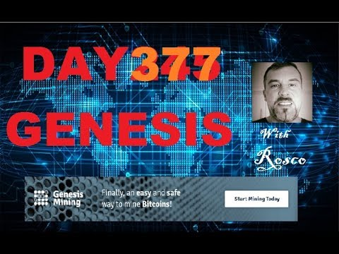 Genesis  Bitcoin Mining Day 377  With Rosco in Australia