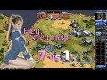 Red Alert 2 - A Path Beyond II Map - 7 brutals vs 1 France