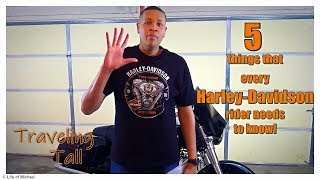 5 things that every Harley-Davidson Rider needs to know.