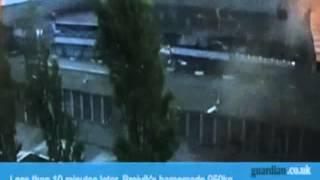 Las primeras imágenes del atentado en Oslo, Noruega, en 2011