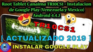 Root Tablet Canaima TR10CS1/TR10RS1, Google Play Store, SuperSU, Gmail, Solucion Error OEM, Parte 2