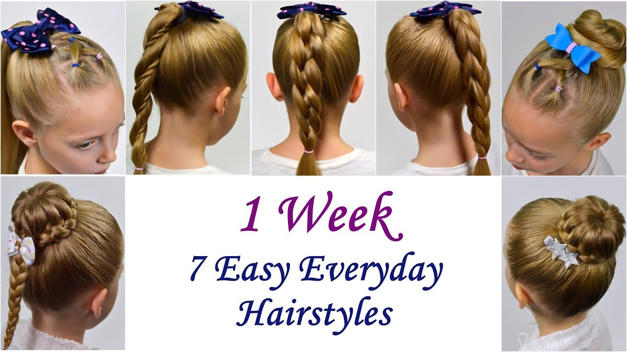 7 easy everyday hairstyles 1