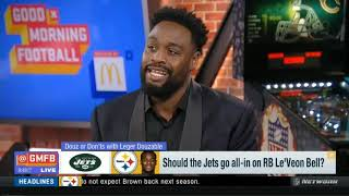 Should the Jets go all-in on RB Le'Veon Bell? | Good Morning Football Today