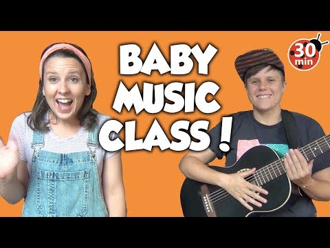 Baby Music Class (full class) Great for babies, toddlers & preschool! Toddler Learning Video Songs