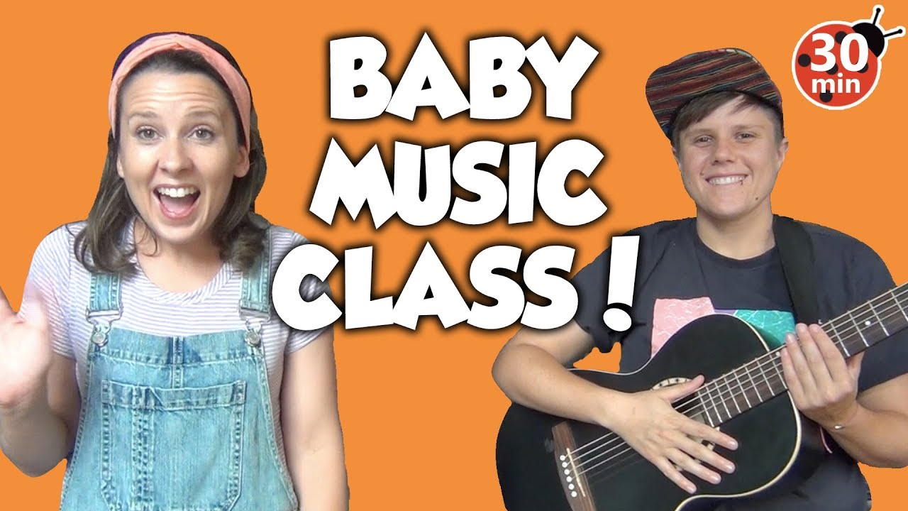 Baby Music Class (full class) Great for babies, toddlers & preschool! Toddler Learning Video Son
