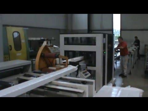 Aluminium Industry. Horizontal Stretch Wrapping machines GG Macchine SR 300