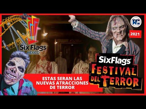 Así lucen las impresionantes ATRACCIONES DE TERROR en SIX FLAGS MEXICO / FESTIVAL DE TERROR 2021