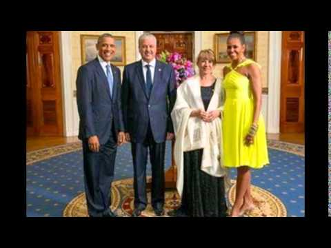 sellal et sa femme avec obama youtube. Black Bedroom Furniture Sets. Home Design Ideas
