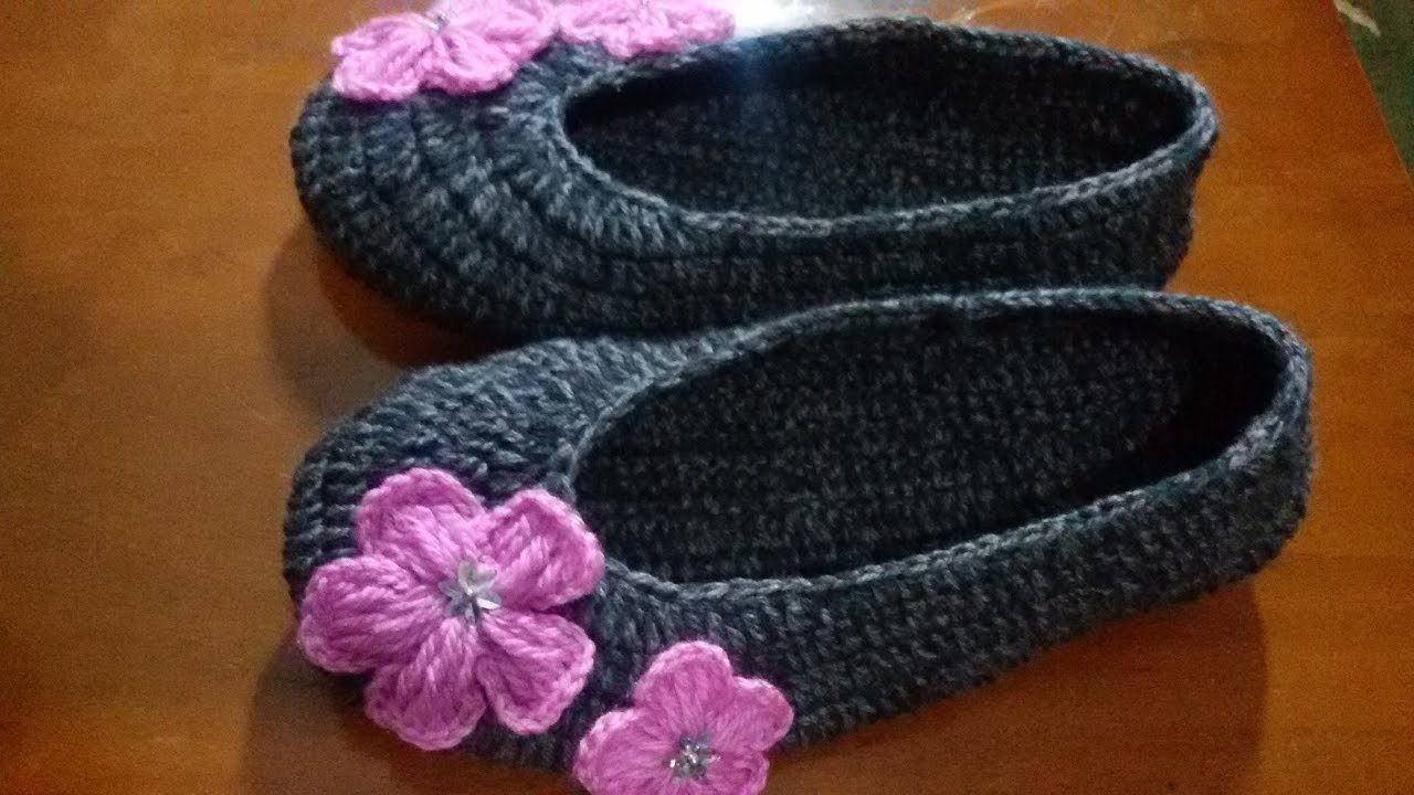 How To Crochet Slippers  Hd New 2017