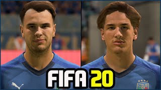 FIFA 20 ALL ITALY PLAYERS REAL FACES