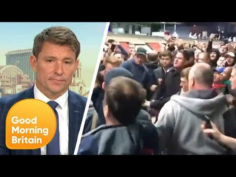 Breaking News: Extinction Rebellion Protesters Climb on Tube at Canning Town | Good Morning Britain