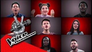 De liveshowkandidaten zingen 'Cheap Thrills'   The Voice van Vlaanderen   VTM