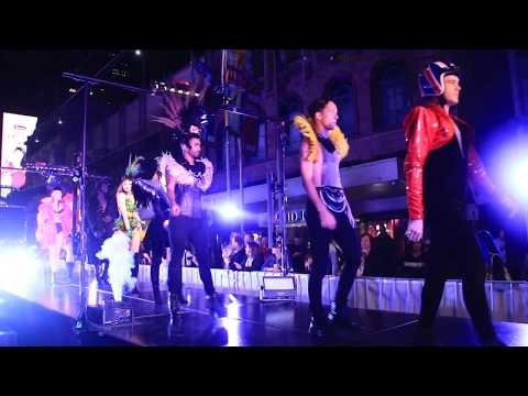 Sexy Dances by Ministry of Entertainment - Melbourne White Night Fashion Walk 2018