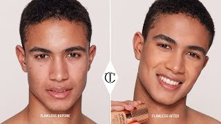 Natural Makeup for Men - How to Apply Foundation Flawlessly   Charlotte Tilbury