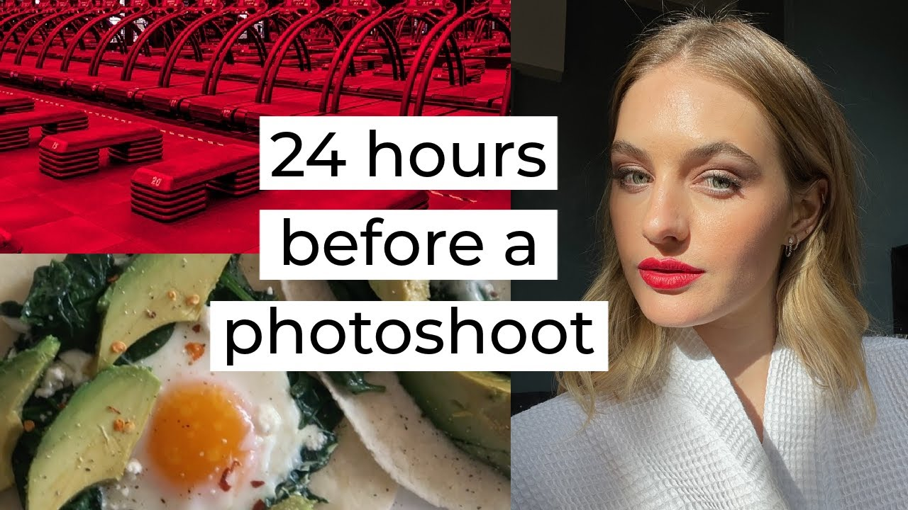 24 hours before a photoshoot // A Day in the Life of a Model // Sanne Vloet