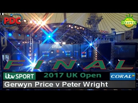 2017 Coral UK Open, UK Open TV Finals Gerwyn Price v Peter Wright | Final