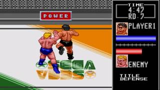 Sega Megadrive / Genesis - Wrestle War Game