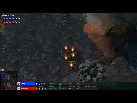 2018 HangZhou Starcraft Sino-Korean Carnival RO.8 TIME VS 噶姐scarlett