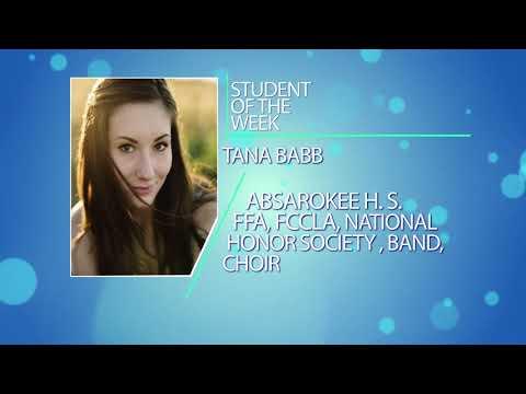 Student of the Week: Tana Babb & Chloe Flynn of Absarokee High School