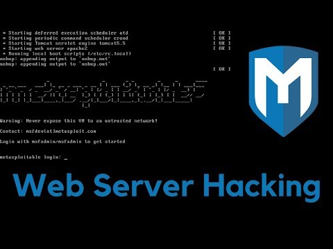 Gaining Access - Web Server Hacking - Metasploitable - #1