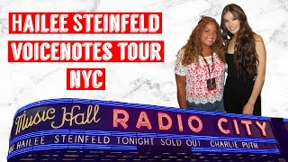 Hailee Steinfeld at Radio City in NYC on the VOICENOTES TOUR! (Full set)