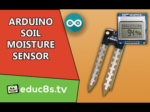 Arduino Tutorial: Using the Soil Moisture Sensor along with a Nokia 5110 LCD display