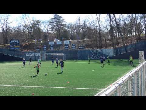 20180118 xavier university soccer camp