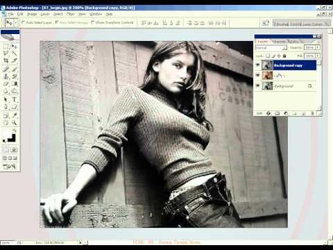 Photoshop CS2 - Phan 20 - Bai 2 - Hieu ung lop chong lop