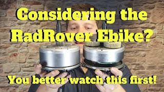 Considering the RadRover Ebike?  You better watch this first!