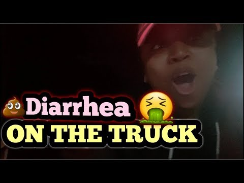 She's Sick/ Got Diarrhea on The Truck 😰 Truckers forced to Stop On The Side of the road|CRST