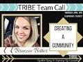 TRIBE Team Call: Facebook Communities