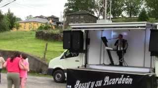Fiesta Silvón (Boal) 22062013  Jessy y su Acordeón  Acordeonista y Vocalista de Asturias