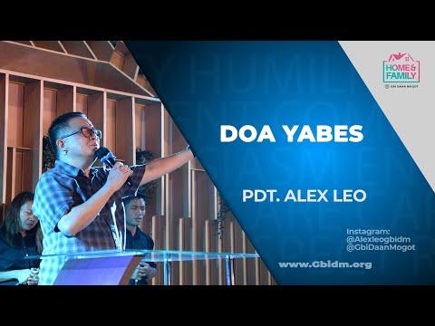 DOA YABES - Pdt. Alex Leo